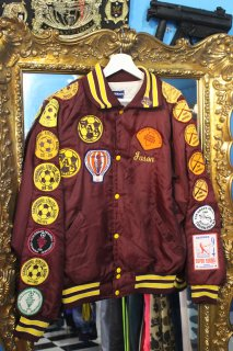 SOCCER,BASKETBALL,BASEBALL PATCH NYLON STADIUM JACKET(オールスポーツ ワッペン スタジャン)