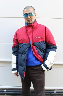 <img class='new_mark_img1' src='//img.shop-pro.jp/img/new/icons20.gif' style='border:none;display:inline;margin:0px;padding:0px;width:auto;' />TOMMY HILFIGER DOWN JACKET(トミー フィルヒィガー ダウン ジャケット)