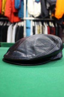 MADE IN U.S.A LEATHER HUNTING CAP(レザー ハンチング)