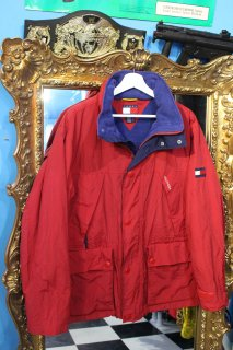 TOMMY HILFIGER NYLON MOUNTAIN JACKET(トミー フィルヒィガー ナイロン マウンテン ジャケット)