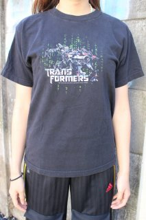 TRANS FORMERS 2007 OFFICIAL MOVIE T-SHIRT(トランスフォーマー ムービー Tシャツ)