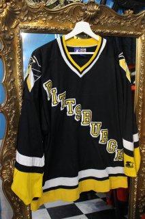 NHL PITTSBURGH PENGUINS GAME SHIRT(NHL ピッツバーグ・ペンギンズ ゲーム シャツ)