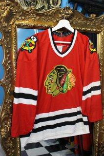 NHL CHICAGO BLACKHAWKS GAME SHIRT(NHL シカゴ・ブラックホークス ゲーム シャツ)