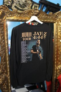 JAY-Z 4:44 TOUR L/S T-SHIRT(ジェイ・Z