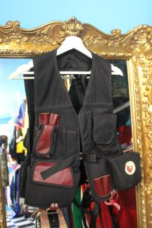 OCCIDENTAL LEATHER TOOL VEST(ダック素材 ワーク ベスト)