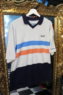 <img class='new_mark_img1' src='//img.shop-pro.jp/img/new/icons20.gif' style='border:none;display:inline;margin:0px;padding:0px;width:auto;' />REEBOK PILE S/S POLO SHIRT(リーボック パイル地 ポロシャツ)
