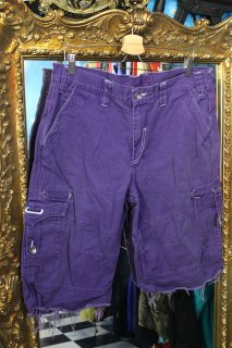COOGI COLOR CUT-OFF CARGO SHORTS(クージー カットオフ カラー カーゴ ショーツ)