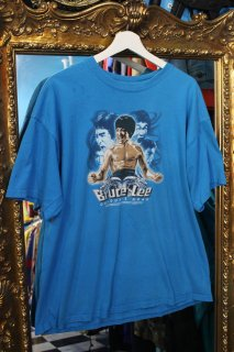 BRUCE LEE  T-SHIRT BLUE(ブルース・リー Tシャツ)