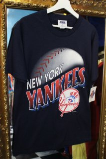 90's MLB NEW YORK YANKEES T-SHIRT(96年ヤンキース Tシャツ)