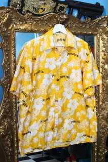 MLB PITTSBURGH PIRATES OFFICIAL ALOHA SHIRT(パイレーツ アロハ シャツ)