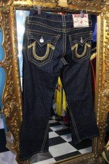 LADIES TRUE RELIGION BRAND JEANS FLARE DENIM PANTS(トゥルー・レリジョン フレア デニム パンツ)