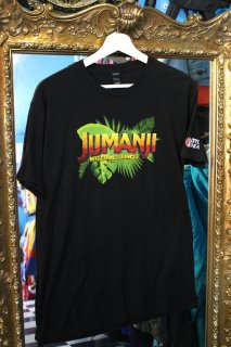 "JUMANJI ""WELCOME TO THE JUNGLE"" T-SHIRT(ジュマンジ プロモ Tシャツ)"
