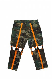 REMAKE CARGO BELT PANTS(L)