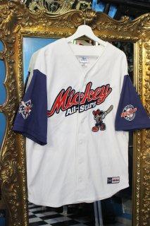 MICKEY ALL STARS BASEBALL SHIRT(ミッキー オールスターズ ベースボール シャツ)