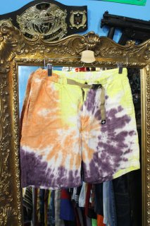 <img class='new_mark_img1' src='//img.shop-pro.jp/img/new/icons20.gif' style='border:none;display:inline;margin:0px;padding:0px;width:auto;' />COLUMBIA TIE-DYE HEMP SHORTS(コロンビア タイダイ ヘンプ ショーツ)