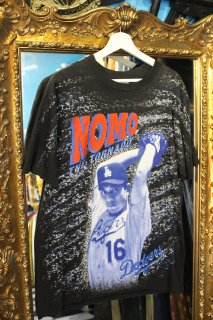 LOS ANGELS DODGERS NOMO T-SHIRTS(野茂 Tシャツ)