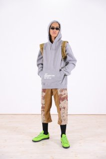 EMPIRE Co.ltd × Awesome Boy 13 oz REMAKE BAG PACK HOODIE(HEATHER/COYOTE)