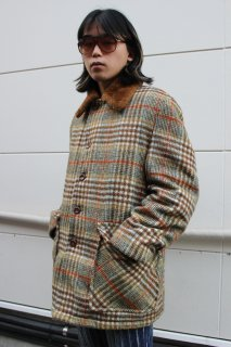 <img class='new_mark_img1' src='//img.shop-pro.jp/img/new/icons20.gif' style='border:none;display:inline;margin:0px;padding:0px;width:auto;' />TWEED CHECK BOA COAT(ツイード チェック ボア コート)