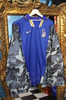 REMAKE SOCCER CAMO L/S SHIRT(ITALY)