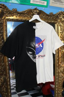 REMAKE GRAY×NASA T-SHIRT