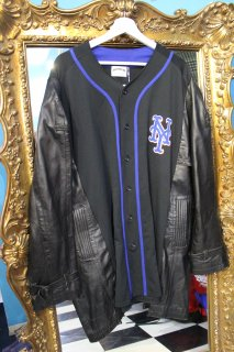 REMAKE BASEBALL LONG COAT(METS)
