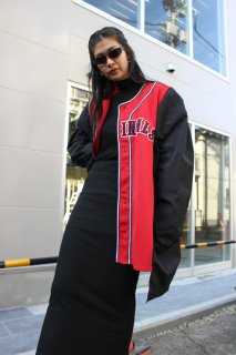 REMAKE BASEBALL LONG COAT(CARDINALS)