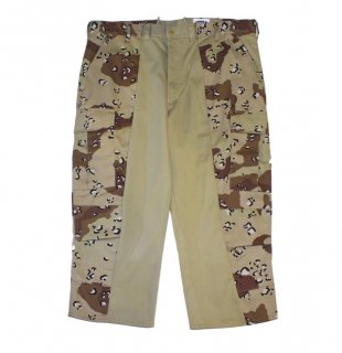 REMAKE DESERT CAMO SWITCH SHORTS