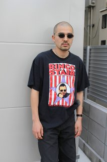 RINGO STARR AND HIS ALL STARR BAND TOUR 1992 T-SHIRT(リンゴ・スター ツアー Tシャツ)