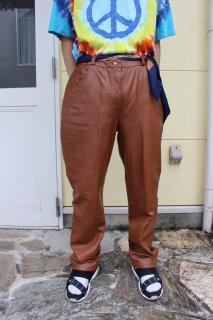 LEATHER STRAIGHT PANTS(レザー ストレート パンツ)