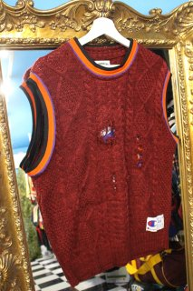 REMAKE BASKETBALL NO-SLEEVE SWEATER(SUNS)