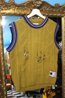 REMAKE BASKETBALL NO-SLEEVE SWEATER(JORDAN)