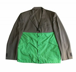 REMAKE TAILORED COACH JACKET(GREEN)