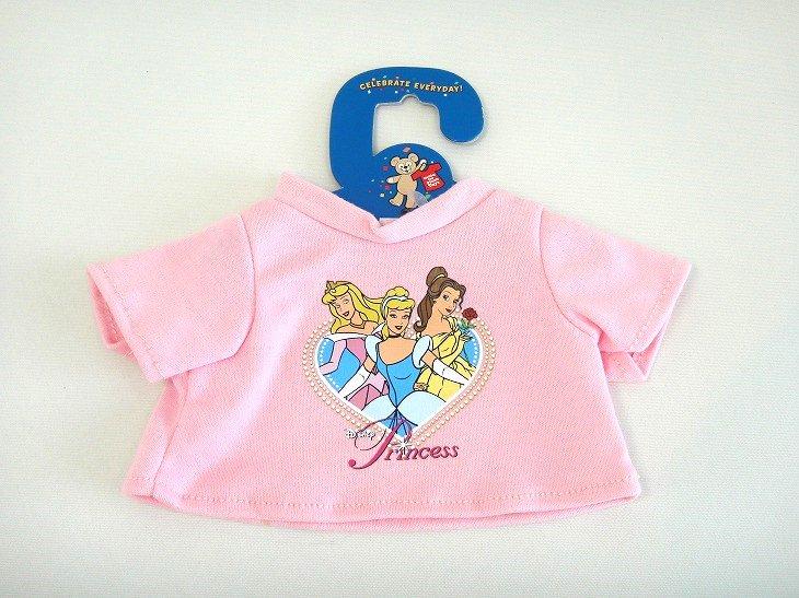 ダッフィー用Tシャツ 「プリンセス(ピンク)」