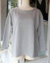 B05TE-830_b 30/-SWEAT BOAT NECK
