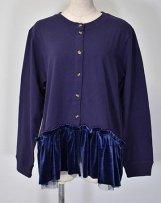 n229038A_nv plain stitch cardigan