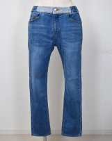 TP-004_dm Strech DENIM Pants ダメージ加工