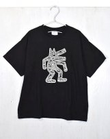 g31698482_2 Keith Haring DOG BIG TEE