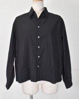 ST-062_bk オープンカラーシャツ