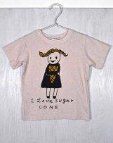 n201-1518_43 Sugar cone Tシャツ
