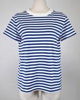 ST001-80804_9 クラシック天竺ボーダー半袖Tシャツ
