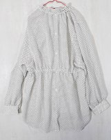 AL202104_11 2WAY FRILL SHIRT DOT