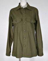 60's US ARMY OG107シャツ
