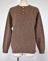 brM2474/HENRY_nu SHAGGY HENRY PULLOVER