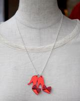 t1430017_75 RUBY SLIPPERS NECKLACE