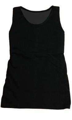 ナベシャツ【マスキュリンロング Ver.2】ブラック