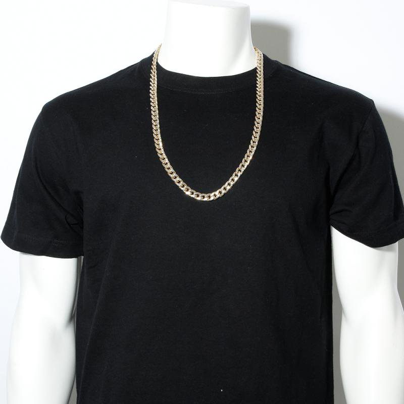 MIAMI CUBAN CHAIN 10K DIAMOND CUT 【HOLLOW】