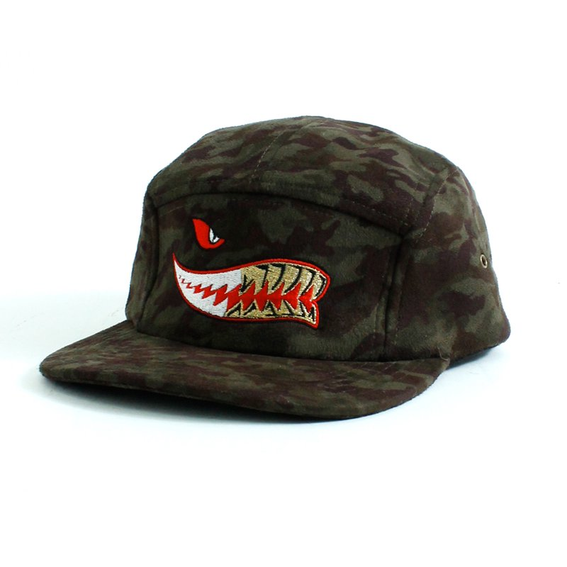 SHARK GRILLZ CAMO CAP [GREEN]