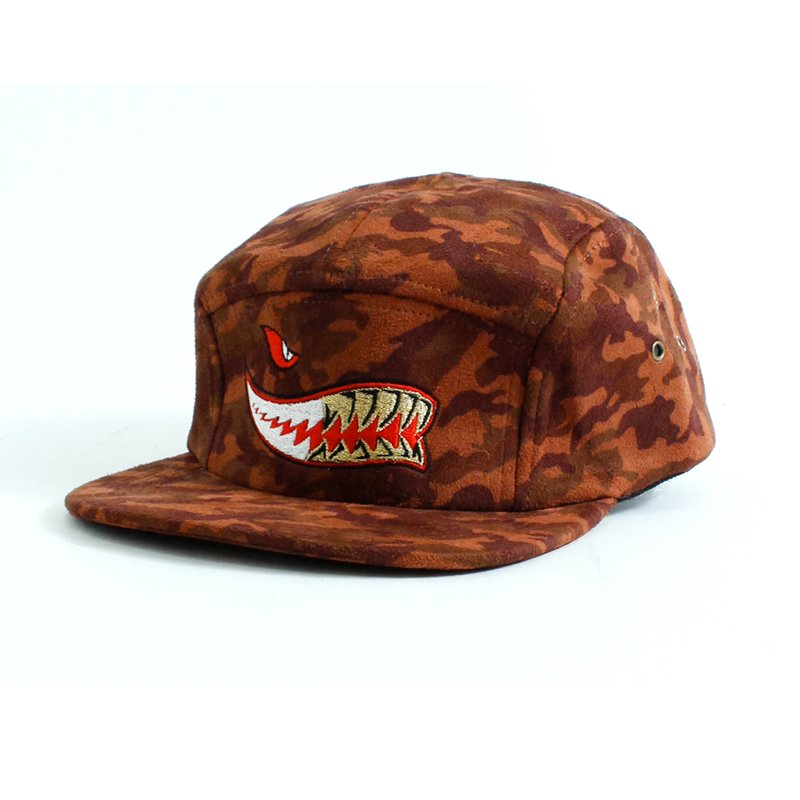 SHARK GRILLZ CAMO CAP [RED]