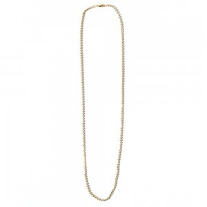 MOON CUT BALL CHAIN 10K YG 66cm