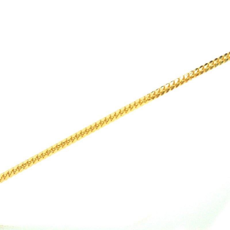 MIAMI CUBAN CHAIN 10K YG 60cm 【SOLID】